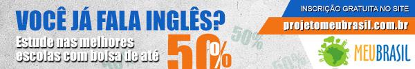 Bolsas de Estudo de até 50% - Projeto Meu Brasil